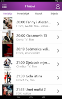 Screenshot of TvProfil - TV program