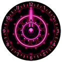 10 Pink Neon Clocks icon