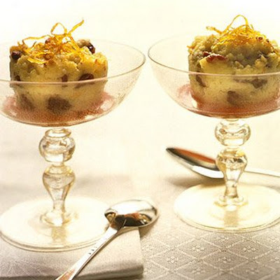 Cranberry Semolina Pudding