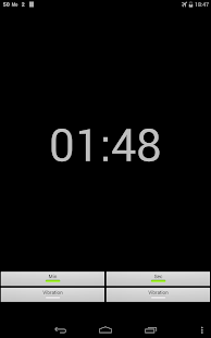 One Minute Interval Timer - screenshot
