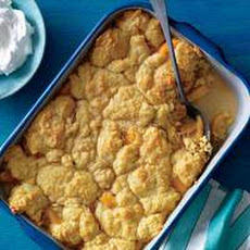 Peaches n Cream Cobbler