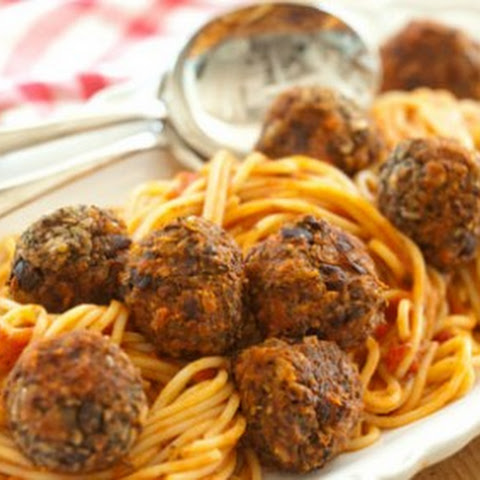 Vegan Spaghetti and 'Meatballs'!