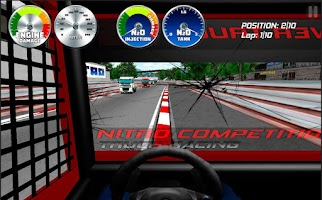 Screenshot of Truck Racing Nitro
