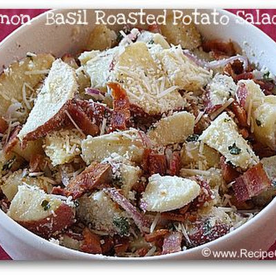 LEMON- BASIL ROASTED POTATO SALAD