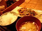 【渋谷ランチ】しょうが焼き定食(澁家)