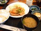 【渋谷ランチ】しょうが焼き定食(ほの字)
