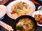 【渋谷ランチ】牛肉とキャベツの炒め物(ほの字)