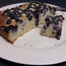 Pearl River Blues Berry Farm Blueberry Pudding Cake