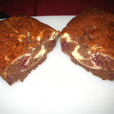 Swirled Strawberry bread