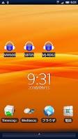 Screenshot of Bluetooth A2DP Switcher Widget