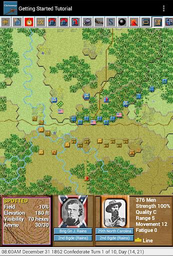 Civil War Battles- Chickamauga - screenshot