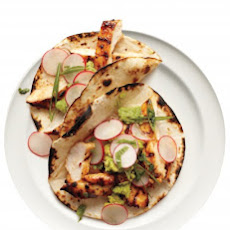 Chipotle Chicken Tacos with Radish Salad