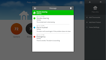 Screenshot of Nest