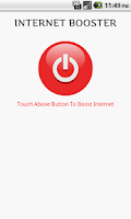 Screenshot of Internet Booster (phony)