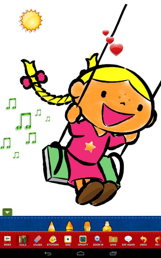 color draw for kids android apps on google play - Images Of Drawing For Kids