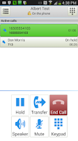 Screenshot of Zultys Mobile