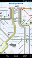 Screenshot of Amsterdam Metro and Tram Map