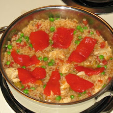 Delicious Chicken Paella
