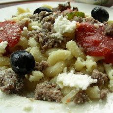Greek Macaroni With Meat Sauce