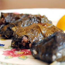Greek Dolma Aka Stuffed Grape Leaves