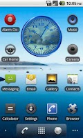 Screenshot of Manatee 1 Analog Clock