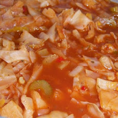 Cabbage Veggie Soup
