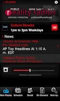 Screenshot of Public Reality Radio