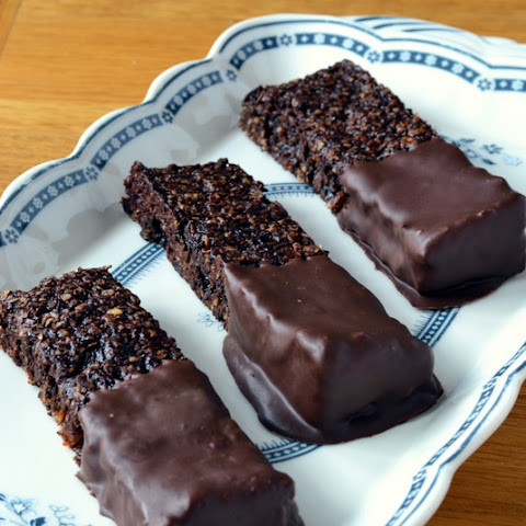 Double Chocolate Flapjacks