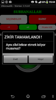 Screenshot of ZikirMatik / Tesbih