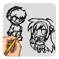 App How To Draw Manga APK for Kindle