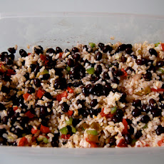 Zingy Black Beans & Rice