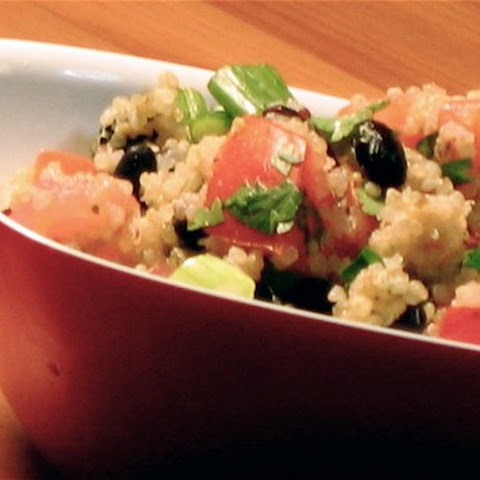 Black Bean and Tomato Quinoa