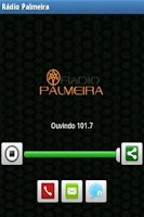Screenshot of Rádio Palmeira AM740 e FM101.7