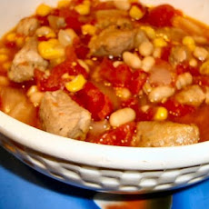 Crock Pot Chipotle Pork Chili
