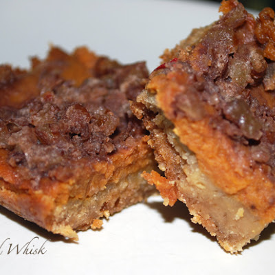 Old World Pumpkin Bars