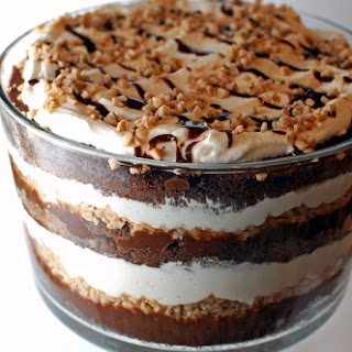 Mouth-Dropping Chocolate Toffee Trifle