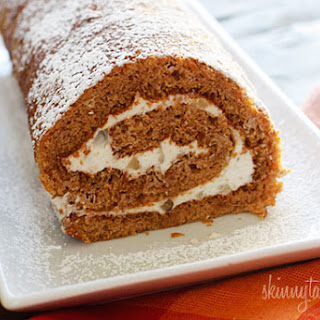 Pumpkin Roll, Lightened Up