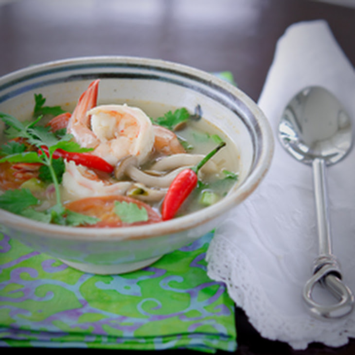 Tom Yum Goong, the Thai style hot and sour soup Recipe | Yummly