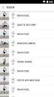 Screenshot of NIKE+ TRAINING CLUB