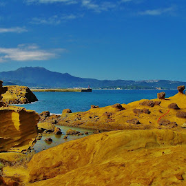 by Low Leong - Nature Up Close Rock & Stone ( nature formations, sky, sea, travel, rocks )