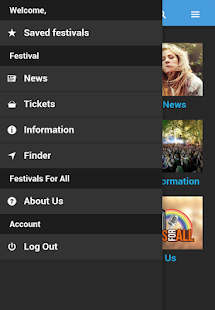 Festivals For All - screenshot