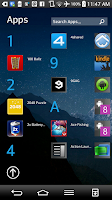 Screenshot of Windows 8 Launcher - Androse
