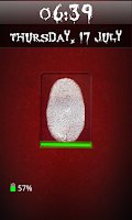 Screenshot of Fingerprint Screen Lock Free