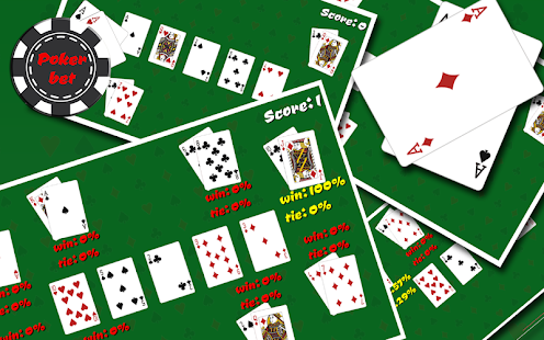 PokerBet - screenshot