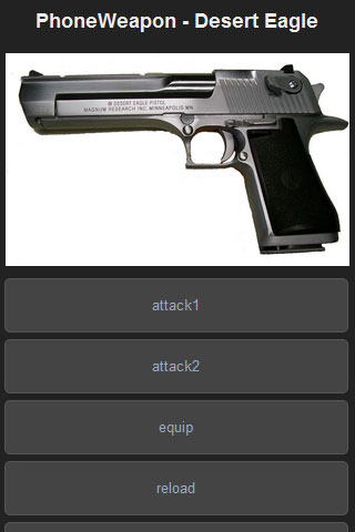 Desert Eagle - PhoneWeapon