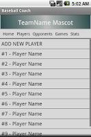 Screenshot of Baseball Coach - Free