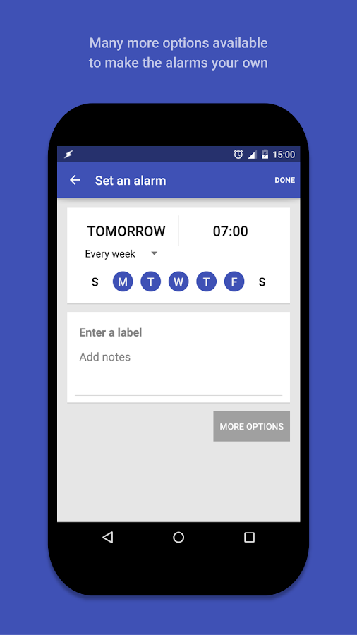AlarmPad - Alarm clock PRO Screenshot 1
