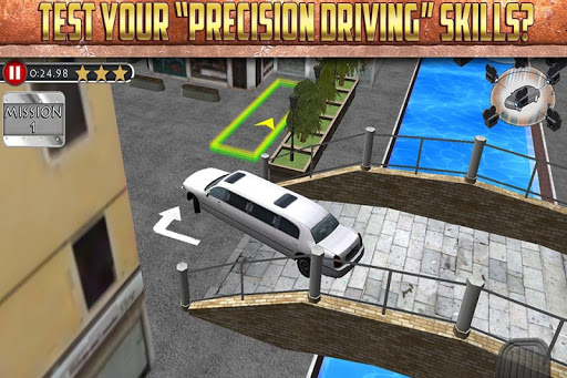3D Limo Parking Simulator Game - screenshot