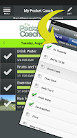 Screenshot of My Pocket Coach