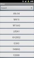 Screenshot of BF3 Weapon Statistics